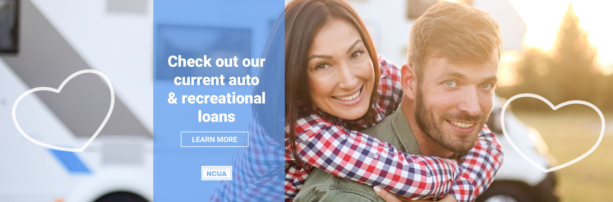 Check out our current auto & recreational loans