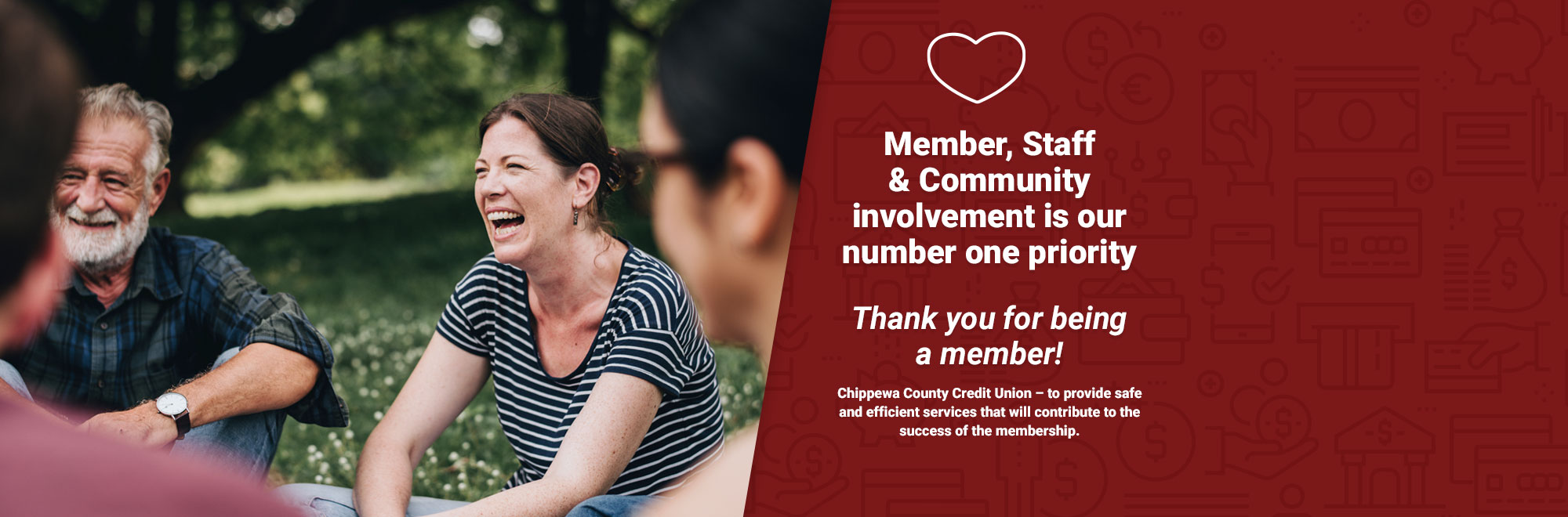Member, staff & community involvement is our number one priority