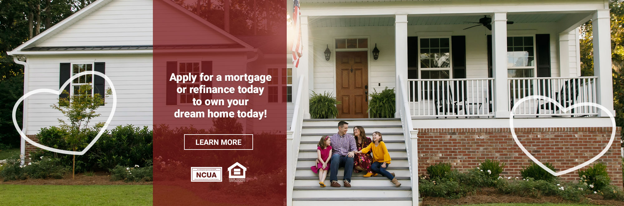 Apply for a mortgage or refinance today!